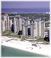 Hotels and High-Rise Condos on the Northwest Florida Coast